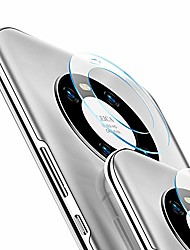 cheap -Phone Screen Protector For Huawei Mate 40 Pro Tempered Glass 3 pcs High Definition (HD) Scratch Proof Camera Lens Protector Phone Accessory