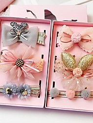 cheap -Kids Baby Girls' Cute Hairband Baby Girl Baby Font Guard Headband Girl Head Flower Princess 0-3 Years Old Infant Hair Accessories