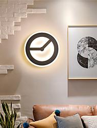 cheap -LED Wall Light Bedside Light Round Square Mini Style Modern Living Room Dining Room Acrylic 25cm Wall Light IP20 110-120V 220-240V 18/22 W