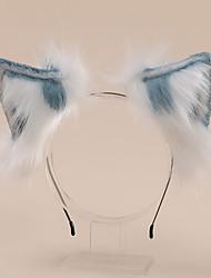 cheap -Kids Baby Girls' Simulation Animal Ear Plush Headband Cute  Headdress Accessories Cat Ears Headband Can Bend Animal Ears
