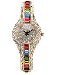 cheap -luxury diamond full diamond fashion watches inlaid with colored stones high-end watches women