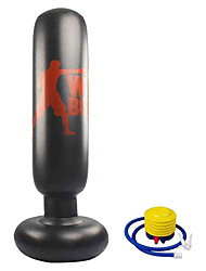 cheap -Punching Heavy Bag Inflatable Freestanding Fitness Punching Boxing Bag for Kids and Adults Boxing Target Bag