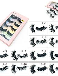 cheap -False Eyelashes Imitation Mink Five Pairs Of False Eyelashes Natural Thick Multi-layer Curling Eyelashes