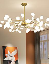 cheap -LED Pendant Light 27 36 45 54 Heads Firefly Chandelier LED Pendant Lighting Postmodern Ceiling Light Fixture Hanging Lamp Rose Gold Branch LED Chandelier Bulb Included AC220V AC110V