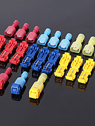 cheap -360pcs  Waterproof electrical connector wire terminal electrical wire quick connectors snap terminal splice lock snap wire connector