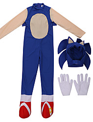 cheap -Cosplay Cosplay Costume Outfits Boys' Girls' Movie Cosplay Halloween Blue Leotard / Onesie Hat Christmas Halloween Children's Day Polyester