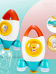 cheap -Baby Bath Toy, Spray Water Bathtub Toy, Space Rocket Fountain Shower Toys, Fun Bath Time Tub Toy,Gift for 18 Months,2,3 Year Olds Infants Toddlers Boys Girls Kids Children