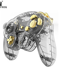 cheap -For Nintendo NGC Gamecube Controller Housing Cover Shell Handle Case Replacement Parts Games Handle Protective Accessories