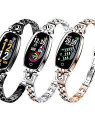cheap -H8 Smart Band Fitness Bracelet Bluetooth 0.96 inch Screen IP68 Waterproof Touch Screen Heart Rate Monitor Pedometer Call Reminder Activity Tracker for Android iOS Samsung Xiaomi Apple Women Men
