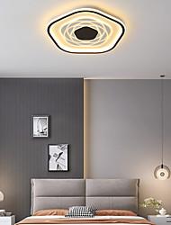 cheap -LED Ceiling Light Black Gold Floral Design 40/50/60 cm Flush Mount Lights Aluminum Artistic Style Formal Style Modern Style Painted Finishes Artistic 220-240V 110-120V