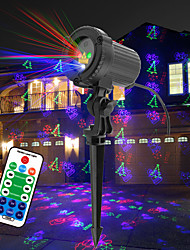 cheap -Remote Control Laser Light Projector Waterproof Projector Rotating LED Projector Multi Color Wedding Party Gift Projector Light