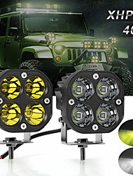 cheap -cross-border led work light 40w spotlight motorcycle engineering vehicle super spotlight led spotlight work light