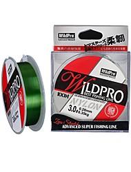 cheap -Monofilament Abrasion Resistant Fishing Line 100M / 110 Yards White, Green