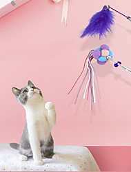 cheap -3PCS Interactive Toy Ropes Cat Toys Set Cat Pet Exercise Releasing Pressure Plastic & Metal Gift Pet Toy Pet Play