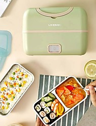 cheap -2021 New Liren Portable Cooking Electric Lunch Box Multifunctional Plug-in Electric Heating Cooking Large Capacity Double Layer