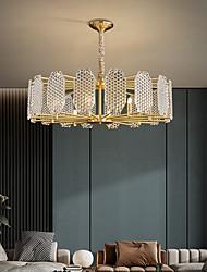 cheap -LED Pendant Light Chandelier Gold 65cm 80cm Sputnik Design Copper Modern Style Empire Brass Modern Nordic Style 6 8 Heads 220-240V 110-120V