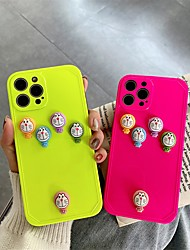 cheap -Phone Case For Apple Back Cover iPhone 12 Pro Max 11 SE 2020 X XR XS Max 8 7 Shockproof Dustproof 3D Cartoon TPU