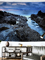 cheap -Landscape Wall Tapestry Art Decor Blanket Curtain Hanging Home Bedroom Living Room Decoration Polyester River Rock