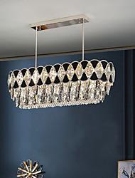 cheap -LED Pendant Light Crystal Chandelier Island Light 80 cm Lantern Desgin Stainless Steel Electroplated Modern 220-240V 110-120V