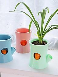 cheap -Automatic Watering Flower Pot Inner Hydroponics Without Watering Water Saving Flowerpot Garden Indoor Home Decoration Gardenin