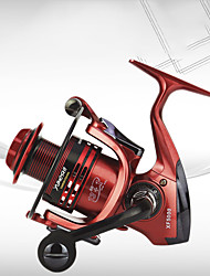 cheap -Fishing Reel Spinning Reel 5.5:1 4.7:1 Gear Ratio 13+1 Ball Bearings Ultra Smooth for Freshwater and Saltwater / Sea Fishing / Carp Fishing / Powerful
