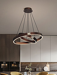 cheap -LED Pendant Light 60 cm Lantern Desgin Pendant Light Metal Painted Finishes Modern 220-240V