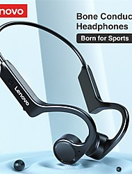 cheap -Lenovo X4 Bone Conduction Headphone Bluetooth5.0 Ergonomic Design HIFI Sweatproof for Apple Samsung Huawei Xiaomi MI  Mobile Phone