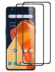 cheap -[2-pack screen protector for oneplus 9 5g, tempered glass [full adhesive][full coverage] [bubble-free] [anti scratch] hd clear high responsive for oneplus 9 5g 2021 release (oneplus 9)
