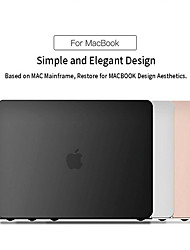 """cheap -MacBook Case Solid Colored Plastic for A2179 MacBook New Air 13""""2020"""