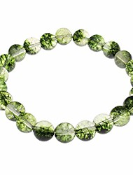 cheap -8mm natural semi precious stone bracelet for women and girls (style 3)