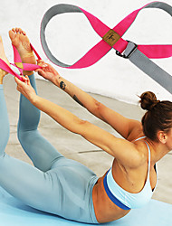 cheap -Stretch Out Strap Stretch and Resistance Exercise Band Yoga Strap Sports Poly / Cotton Cotton Yoga Fitness Pilates Durable Adjustable D-Ring Buckle Stretching Improve Flexibility For Women's Men's