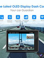 cheap -AZDOME M10 1080p / 2160P Full HD Car DVR 150 Degree Wide Angle CMOS Dash Cam with WIFI / ADAS Car Recorder