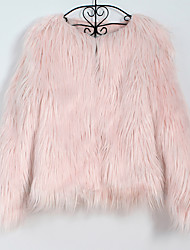 cheap -Coats / Jackets Faux Fur Wedding / Party / Evening Women's Wrap With