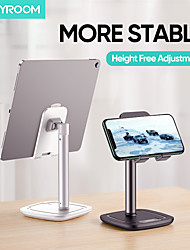 cheap -Joyroom Phone Holder Stand Mount Desk Phone Desk Stand Adjustable ABS Phone Accessory iPhone 12 11 Pro Xs Xs Max Xr X 8 Samsung Glaxy S21 S20 Note20