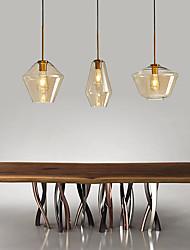 cheap -LED Pendant Light Glass Kitchen Island Light Single Design Copper Brass LED Nordic Style 110-240 V