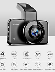 cheap -AZDOME 1296P Full HD Car DVR Wide Angle CMOS Dash Cam with WIFI / ADAS Car Recorder