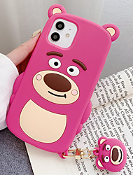 cheap -Phone Case For Apple Back Cover iPhone 12 Pro Max 11 SE 2020 X XR XS Max 8 7 6 Shockproof Dustproof Cartoon Graphic TPU Silicone