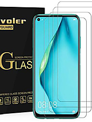 cheap -Phone Screen Protector For Huawei P40 P40 Pro P40 lite P40 lite E Tempered Glass 4 pcs High Definition (HD) 9H Hardness Explosion Proof Front Screen Protector Phone Accessory
