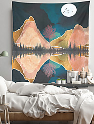 cheap -Painting Style Wall Tapestry Art Decor Blanket Curtain Hanging Home Bedroom Living Room Decoration