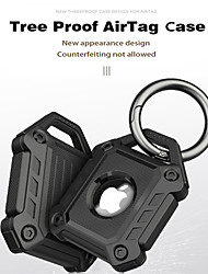 cheap -Armor Protective Case For Airtags Key Finder Cover With Keychain  Anti-Lost Locator Tracker Cover For Apple Airtags