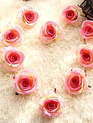 cheap -Rose Artificial Flower Plastic Vintage Irregular Tabletop Flower Irregular 2pcs