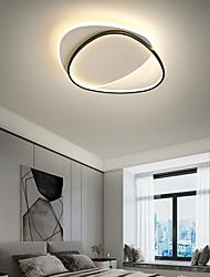 cheap -LED Ceiling Light Modern Simple Basic 37cm 46cm Geometric Shapes Flush Mount Lights Metal Modern Style Geometrical Painted Finishes 220-240V 110-120V