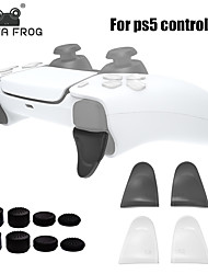 cheap -DATA FROG L2 R2 Buttons Trigger Extensions Thumb Stick For PS5 Gamepad Controller Anti-Slip Thumb Grips Cap For PS5 Accessories