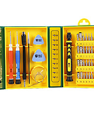 cheap -BST-8921 Factory 38 in 1 Mobile Repair Insulated Cordless Screw Driver Screwdriver Set For Laptop Repair Tools kit
