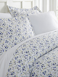 cheap -3-Piece Duvet Cover Set Hotel Bedding Sets Floral Comforter Cover with Soft Lightweight Microfiber Include 1 Duvet Cover 2 Pillowcases for Double/Queen/King(1 Pillowcase for Twin/Single)