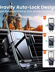 cheap -UGREEN Phone Holder Stand Mount Car Car Holder Gravity Type Adjustable Silicone Aluminum Alloy Phone Accessory iPhone 12 11 Pro Xs Xs Max Xr X 8 Samsung Glaxy S21 S20 Note20
