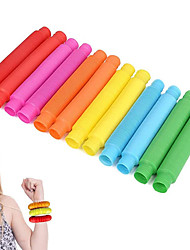 cheap -12 Pack Pull and Pop Tubes Sensory Toy for Kids Stretch, Bend, Build, Connect Toy, Provide Tactile and Auditory Sensory Play, Colorful, Anxiety Relief