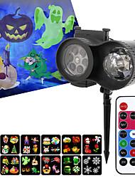 cheap -LED Spotlight 1 Set 15 W 5 LED Beads Remote Control RC Creative Easy Install LED Stage Light Spot Light RGB+White 100-240 V Ceiling Children's Room Living Room Dining Room Halloween Christmas