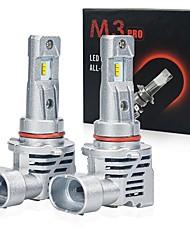 cheap -2pcs / set H8 CSP H11 M3 12000LM H4 LED H1 9005 HB3 9006 HB4 new led Canbus car headlight bulb led car headlight bulb light