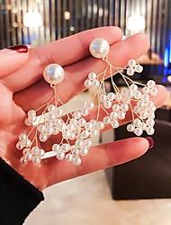cheap -Women's Earrings Classic Cute Imitation Pearl Earrings Jewelry White For Birthday Date